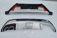 Front and Rear Bumper Guard / protector for 2015 new TUCSON