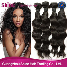 Top quality 7A grade unprocessed cheap loose wave virgin hair weave 100% human indian hair