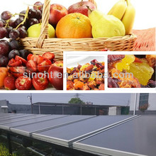 Foods processing industries solar air dryer panel for dehydration of fruits, onion and other vegetables