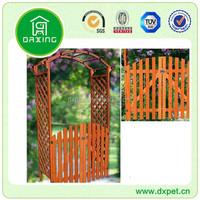 folding wooden fence