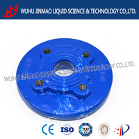 Reducing flange DN60 ductile iron pipe fitting