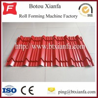 Top Selling CNC Color Steel Glazed Tile Single Layer MetaL Roof Cladding Cold Roll Forming Machine