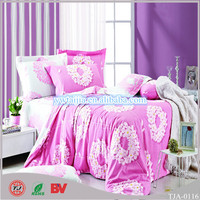 Chinese wholesale bed sheet hand work