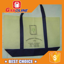 Wholesale exclusive die cut handle pp woven shopping bag