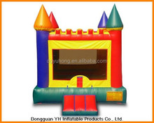 4x4.5m commecial vinyl inflatable jumping moonwalk with ramp