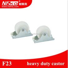 Dual Wheel Nylon Furniture Caster