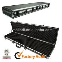 Dual Combination Lock Security Aluminum Carrying Rifle Gun Case MLD-AC1326