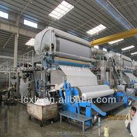 Small machinery 900mm toilet paper making machine