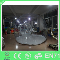 big popular transparent plastic inflatable tent for outdoor activity on sale