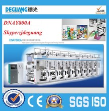 DNAY800A Used Rotogravure Printing Machine ,Gravure Printing Machine ,Advanced Model Rotogravure Printing Press