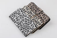 New production leopard pattern wallet leather case for iphone 6s