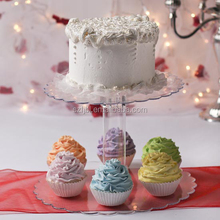 2015 Acrylic Cake Holder/lighted acrylic cake stand/mini cake stand