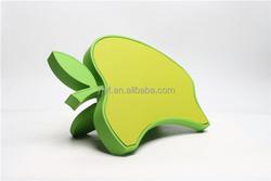 Apple shape plastic Magnetic knife set block