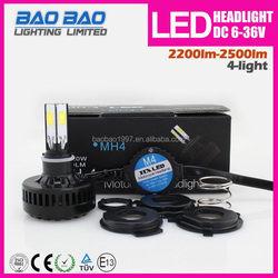 Top quality hot-sale m06b 18w motorcycle led h l headlight