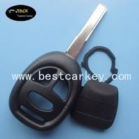 High quality 3 button remote key blank shenzhen (2 track blade) for saab key saab