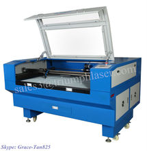 Intuitive LCD Control panel shows current file total power laser diode acrylic cutting machine