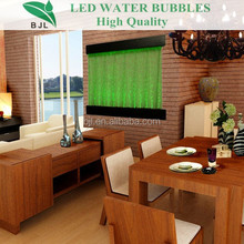 Living Room Furniture led acrylic water bubble waterfall interior wall panel
