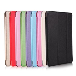 Wholesale Colorful Smart Leather 12.9 inch Case Flip Cover wtih Tiripled Stand for iPad Pro for Apple Tablet