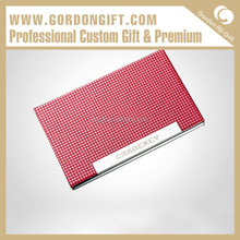 Advertising gift aluminium card holder wholesale