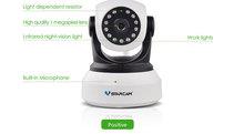 VStarcam C7824WIP HD 1.0 Megapixel Wifi IP Camera wireless p2p sd card recording small ip camera digital ip camera