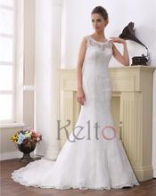 2015 mermaid wedding dresses suzhou keltoi wedding gowns lace fabric