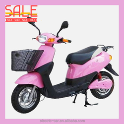 Chinese cheap electric motorcycle, LED headlight lighting, 2 wheel electric scooter for adult