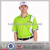 High Quality Polyester Dry Fit short sleeves Men Golf Polo Shirt