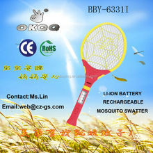 BBY-6331I LI-ION BATTERY RECHARGEABLE MOSQUITO SWATTER 2015 NEW PRODUCTS