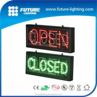 2016 Best sale Shenzhen factory high brightness semi-outdoor led open sign led open closed sign