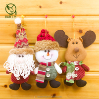 8inch hanging santa snowman deer and cheap christmas gift items
