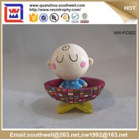 Resin Figurine For Decoration, Custom Made Polyresin Figurine Life Size Cartoon Statue