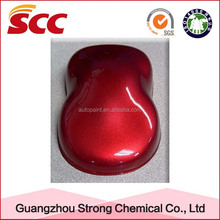 High gloss and car paint usage liquid toyota qualis car body parts