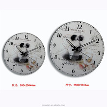 Supply 2015 Newest Design Glass Clock