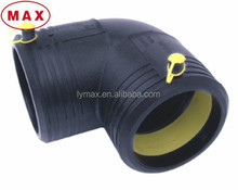 HDPE material 90 degree bend electrofusion accessories for hdpe pipe