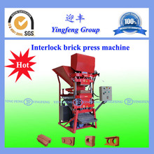 Hot sale! ECO 2700 hydraulic block and interlocking machine with Extreme Durability