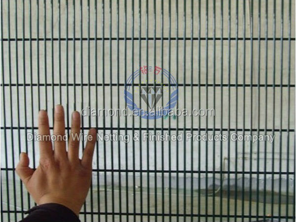 Security fence prison mesh high