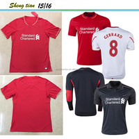 Jersey soccer 2015/2016 thailand quality club liverpoo COUTINHO uniform Customized wholesale football shirt maker soccer jersey