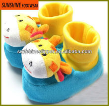 New baby born animal shaped baby walking shoes