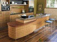 Raw Material Transparent Bamboo Wood Veneer for Indoor Finishing