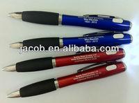 led light ballpoint pen imprit logo 400pcs free shipping