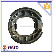 High quality and cheap Chinese GY6 125cc motorcycle brake shoe wholesale