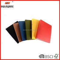 Wholesale high quality plastic ring binder folder/ metal loose ring binder