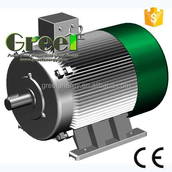 Alternative energy generators magnetic generator for 80kw ac synchronous electric motor