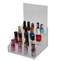 Acrylic countertop nail polish pencil display stand holder