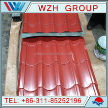 China Industrial Color Coated Roofing Sheets/Metal Sheet Roof Tiles/Sheet Metal