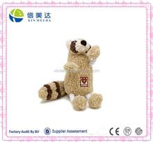 Custom design lovely animals plush toys brown squirrel stuffed toys