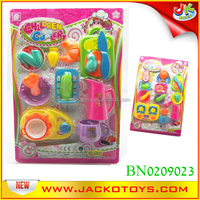 suction plate packing plastic pretend play kitchen toy kids food toy set