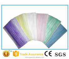 non-woven face mask for food service