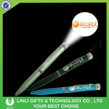 Custom Advertising Logo Projecting Pen For New Year
