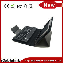 bluetooth keyboard lifeproof leather case with stylus holder for ipad mini case 2